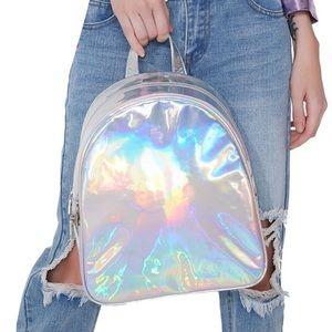 Handbags - Holographic backpack